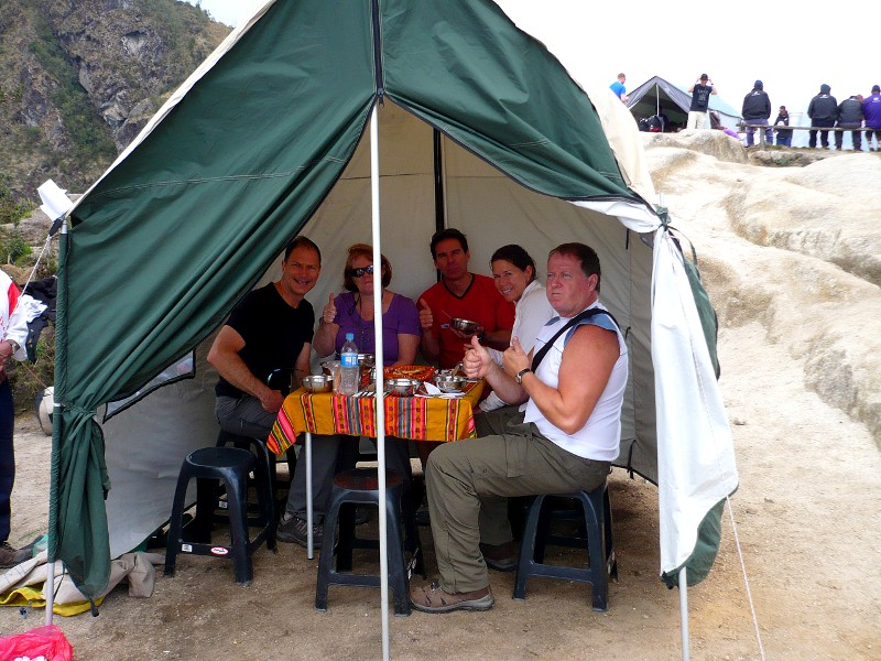 Food on the Inca Trail