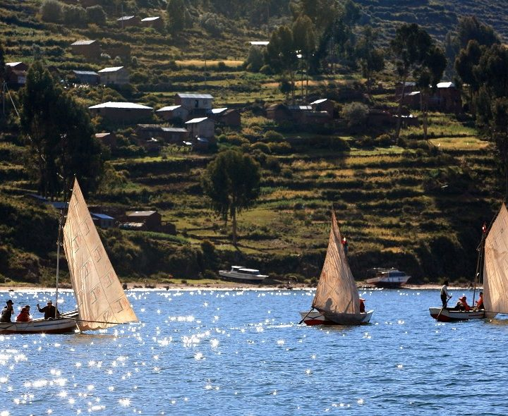 Puno and Titicaca Lake