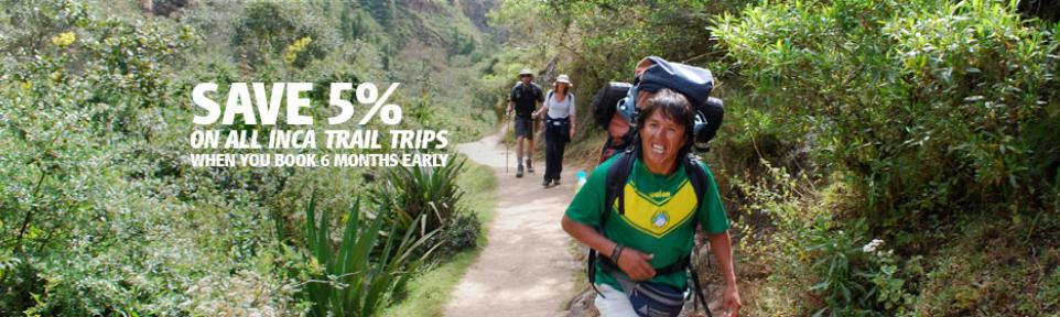 Inca Trail Offers