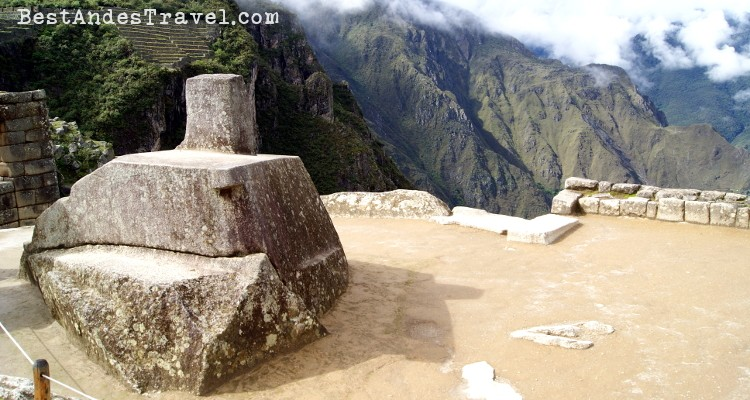 Intihuatana Solar clock Machu Picchu facts