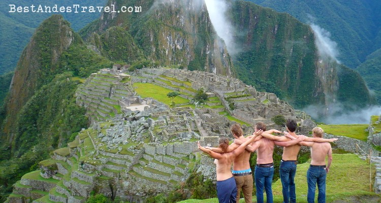 Nudity in Machu Picchu