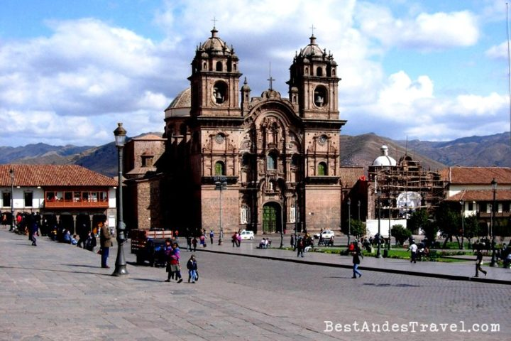 Main Square Cusco City