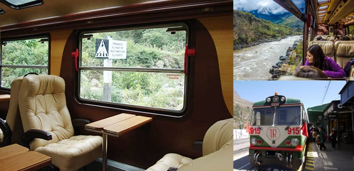 Inca Rail train to Machu Picchu