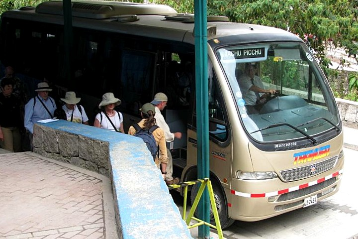 Machu Picchu bus tickets