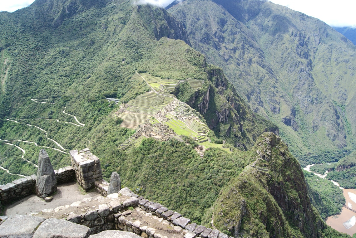 In The Huayna Picchu Top